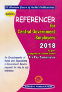 Referencer for Central Government Employees Alongwith Personal Recorder for 2017