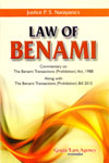 Law of Benami Commentary on the Benami Transactions Prohibition Act 1988