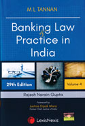 Banking Law and Practice in India in 3 Vols