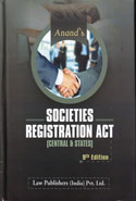 Anands Societies Registration Act 1860 Central and States