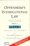 Oppenheims International Law Volume 1  Parts 1 to Parts 4