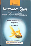 Insurance Laws Being Commentaries on Insurance Act 1938 and Insurance Rules 1939 as Amended by Insurance Laws Amendment Act 2015 Alongwith Allied Laws In 2 Volumes