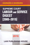 Supreme Court Labour and Service Digest 2005-2015