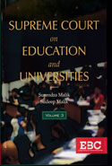 Supreme Court on Education and Universities In 2 Vols