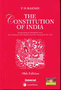 The Constitution of India Pocket Size
