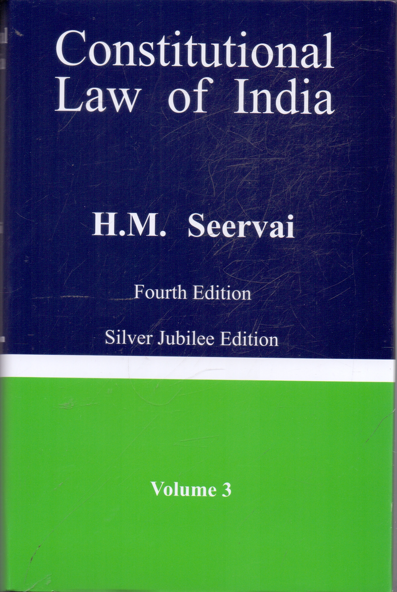Constitutional Law of India  In 3 Volumes With Free Constitution of India by P M Bakshi