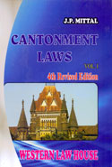 Cantonment Laws In 3 Vols
