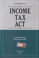Income Tax Act As Amended By Finance Act 2019 with Suppliment