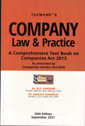 Company Law and Practice a Comprehensive Text Book on Companies Act 2013