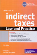 Indirect Taxes Law and Practice for CA CS CMA Nov Dec 2019 Exam