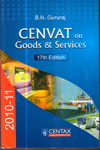 CENVAT on Goods and Services 2010-2011