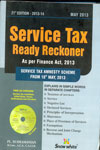 Service Tax Ready Reckoner As Per Finance Act 2013