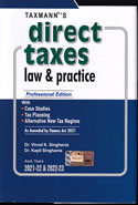 Direct Taxes Law and Practice Professional Edition Assessment Year 2018-19 and 2019-20