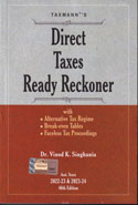 Direct Taxes Ready Reckoner Assessment Years 2019-20 and 2020-21