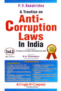 A Treatise on Anti Corruption Laws in India In 2 Vols