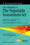 Law Relating to the Negotiable Instruments Act