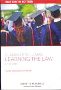 Glanville Williams Learning the Law