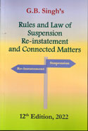 Rules and Law of Suspension Re-Instatement and Connected Matters