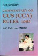 Commentary on the CCS CCA Rules 1965