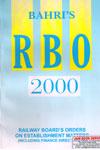 Railway Boards Orders on Establishment Matters 2000