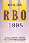 Railway Boards Orders on Establishment Matters 1998