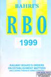 Railway Boards Orders on Establishment Matters 1999