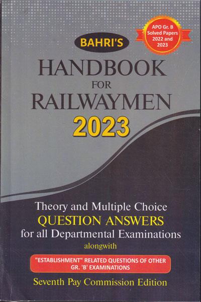 Handbook for Railwaymen 2013