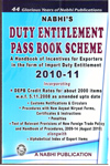 Duty Entitlement Pass Book Scheme 2010-11