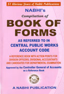 Compilation of Book of Forms as Referred to in Central Public Works Account Code