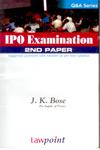IPO Examination 1st Paper