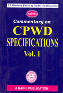 Commentary on CPWD Specifications In 2 Vols