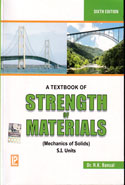 A Textbook of Strength of Materials Mechanics of Solids SI Units