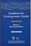 Guidelines for Drinking Water Quality Volume 1 Recommendations With Addendum