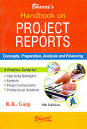 Handbook on Project Reports Concepts Preparation Analysis and Financing
