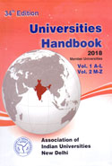 Universities Handbook 2018 In 2 Vols
