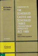 Commentary on the Scheduled Castes and Scheduled Tribes Prevention of Atrocities Act 1989 Alongwith Rules and Allied Legislations