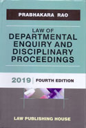 Law of Departmental Enquiry and Disciplinary Proceedings