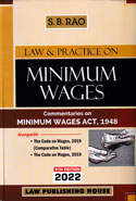 Law and Practice on Minimum Wages Commentaries on Minimum Wages Act 1948