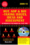 HUF AOP and BOI Taxing Issues Ideas and Assessment 2009-10
