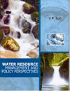 Water Resource Management and Policy Perspectives