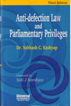 Anti Defection Law and Parliamentary Privileges