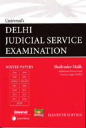 Delhi Judicial Service Examination Solved Papers