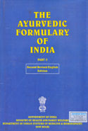 The Ayurvedic Formulary of India Part l and ll