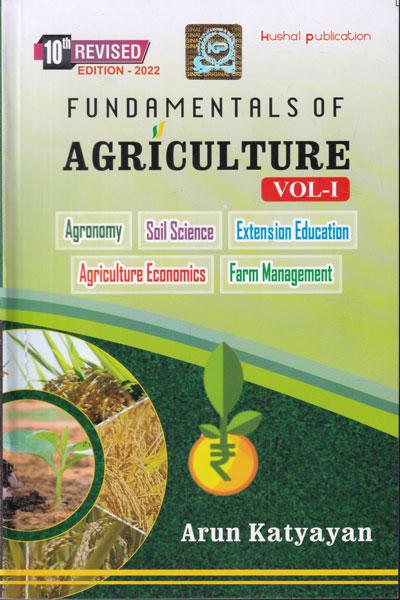 Fundamentals of Agriculture In 2 Vols