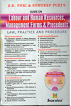 Guide On Labour and Human Resources Management Forms and Precedents Law Practice and Procedure With Free CD