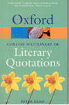 Concise Dictionary of Literary Quotations