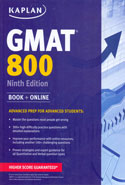 GMAT 800 Advanced Prep for Advanced Students