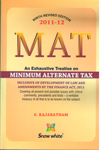MAT as Amended by the Finance Act 2011