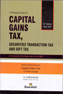 A Practical Guide to Capital Gains Tax Securities Transaction Tax and Gift Tax