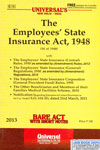 The Employees State Insurance Act 1948 Bare Act With Short Notes